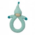 Hoppa Rassel doll blue