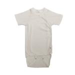 Kimono Body shortsleeve organic cotton Natur | 62/68