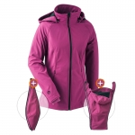 mamalila All-weatherjacket Softshell Berry | XS