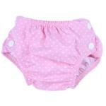 Badewindel Pinks dots 365 | L