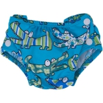 Swim nappies Croco Blu 364 | L