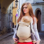 Storchenwiege BabyCarrier mit Hüftgurtschnalle