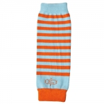 BabyLegs NewBorn Lil Orange/Aqua