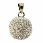 Babylonia Bola Silverplated with glitter stones VG 600