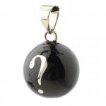 Babylonia Bola Black silver question mark VK 660
