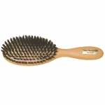 Hair brush with boar bristle