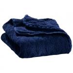 Knitted woollen baby blanket Marine 04 | .