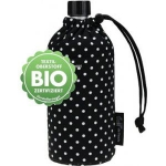 Emil die Flasche Bio Punkte schwarz