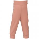 Pantalon à large ceinture laine/soie Lachs 50E | 50/56