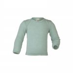 Engel Baby-Shirt wool/silk Gletscher 30E | 86/92