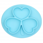 Silicone placemat & plate oval