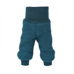 Engel Pantalon laine (Fleece) Petrol 36 | 62/68