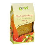 Organic Vegetable Pitta Bread Unsalted
