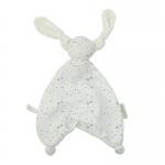 Hoppa Floppy Muslin Stars white/taube
