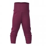 Pantalon à large ceinture laine/soie Orchidee 04 | 86/92