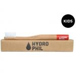 Hydrophil nachhaltige Kinder-Zahnbürste Rot | .