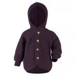 Engel Wool Jacket Lila melange 059E | 62/68