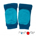ManyMonths Woll-Knieschoner (Lightly Padded Knee Tubes) Mykonos Waters | S/M/L