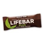 Organic Choco Green Protein Lifebar Plus