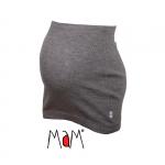 MaM Woll-Bauchband (MultiTube) Silver Grey | S/M
