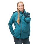 mamalila All-weatherjacket Softshell Petrol | XS