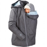 mamalila padded winter jacket for two Ice-grey | S