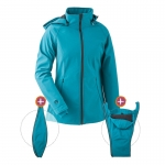 mamalila All-weatherjacket Softshell Petrol | M