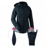 mamalila All-weatherjacket Softshell Black | S