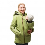 mamalila padded winter jacket for two Pistachio | XS