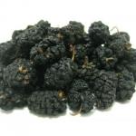 Black Mulberries dried organic 250g