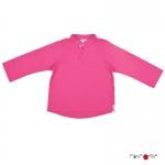 ManyMonths ECO Mandarin Collar Shirt Berry | XL