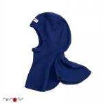 Manymonths bonnet éléphant (cagoule) Jewel Blue   S/M