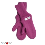 Manymonths Woll-Handschuhe (Mittens) Frosted Berry | XL