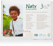 Naty couches bio FSC midi 4 - 9 kg 50 pcs/pack