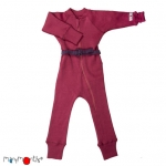 Manymonths Woll-Overall (One Piece Suit) Frosted Berry | S/M