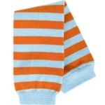 BabyLegs BIO Orange/Aqua Stripe