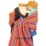 Storchenwiege sling porte-poupée