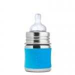 Pura Babyflasche 150 ml Weithalssauger Aqua | .