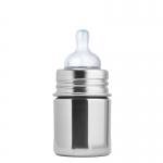 Pura Babyflasche 150 ml Weithalssauger Ohne Überzug | .