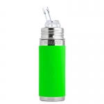 Pura Trinkhalm Isolierflasche 260 ml Green   .