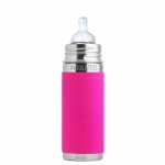 Pura Baby Bottle 260 ml Insulated Pink | .