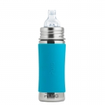 Pura Baby Bottle 325 ml Aqua | .