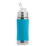 Pura Straw Bottle 325 ml Aqua | .