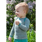 Engel Baby-Shirt wool/silk