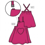 ManyMonths ECO Hempies Heart Pocket Dress/Skirt