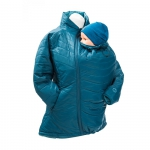 Quilted Babywearing Jacket Blueberry | S