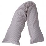 Nursing/Support Pillow SPELT Karo Sand Rosé 0125 | .