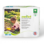 Swilet organic diapers junior 12-25 kg