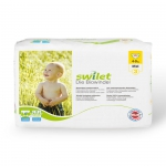 Swilet organic diapers Midi 4-9 kg 1 Box