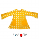 ManyMonths ECO Butterfly Tunic Adjustable Sleeves Sun Circles | L